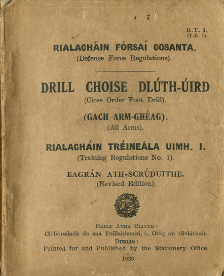 Defence Forces Training Regulation no. 1 - Close Order Foot Drill, 1939